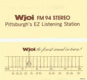 Note the other stations listed on the bottom half of the card. (Click to enlarge photo.)