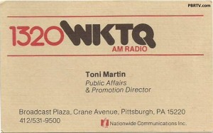 WKTQ Business Card