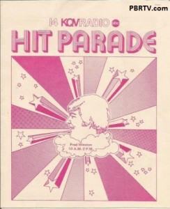 KQV Hit Parade