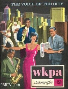 An advertising sales folder for WPKA (1150 AM)  New Kensington.