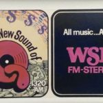 "WKTQ–AM (1320) ""13Q"" and WSHH-FM combo billboard in 1973 or '74"
